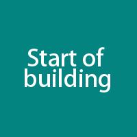 Start of building